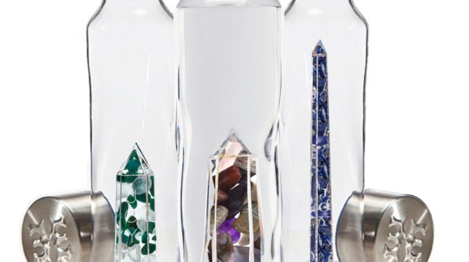 Drink The Energy Of Crystals With These Beautiful Water Bottles